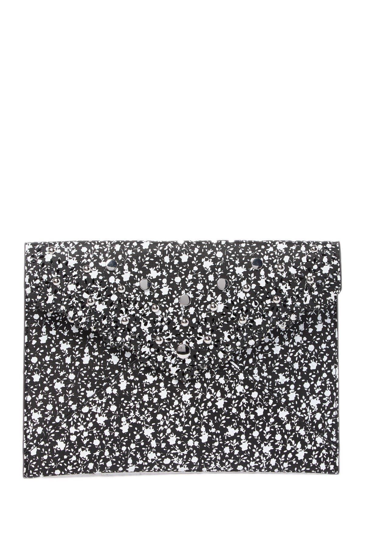 Image of Rebecca Minkoff Leo Leather Envelope Clutch