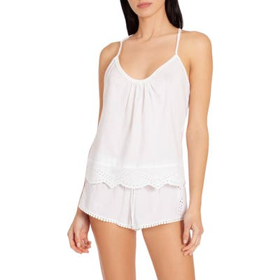 In Bloom By Jonquil Eyelet Short Pajamas, White (Nordstrom Exclusive)