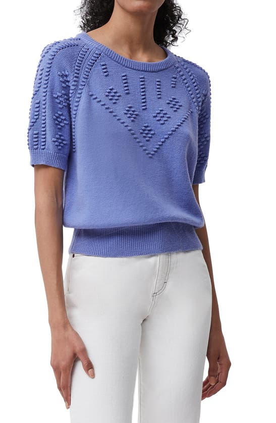 FRENCH CONNECTION Cottons KARLA PUFF SLEEVE SWEATER