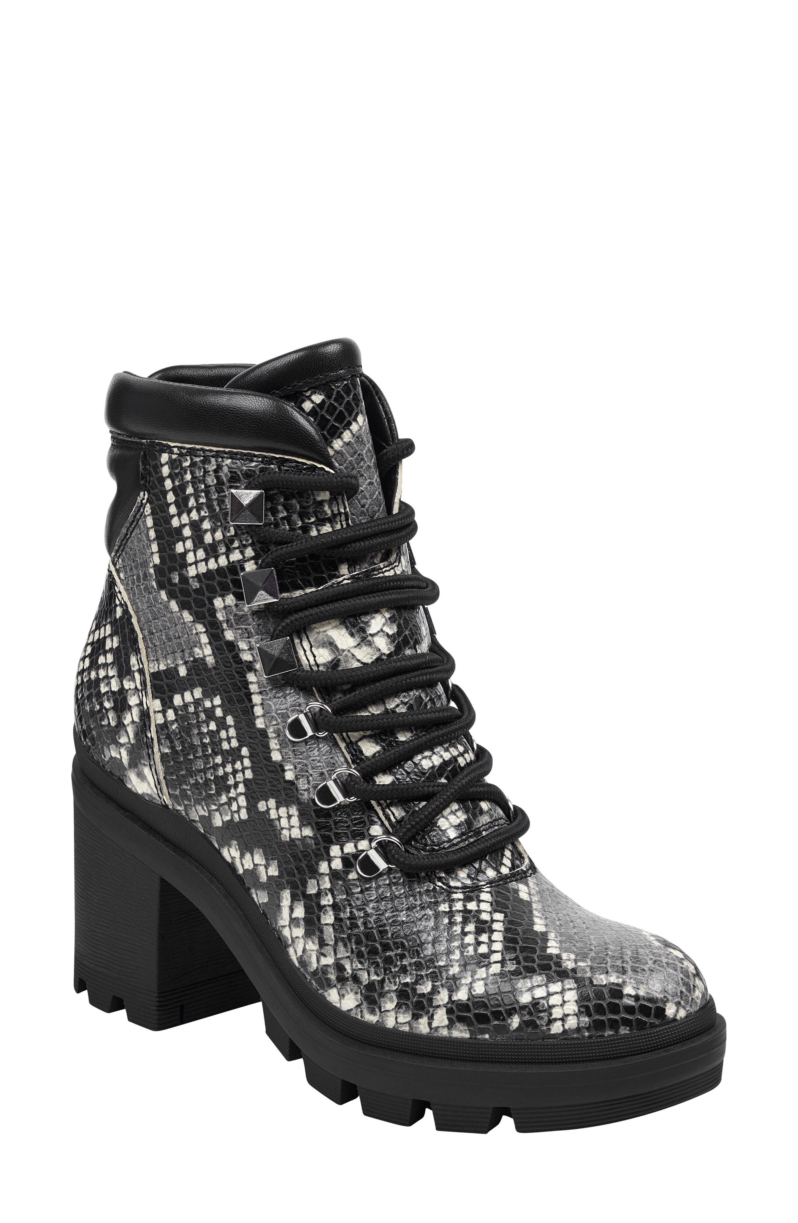 Marc Fisher Ltd Kini Platform Boot- Black