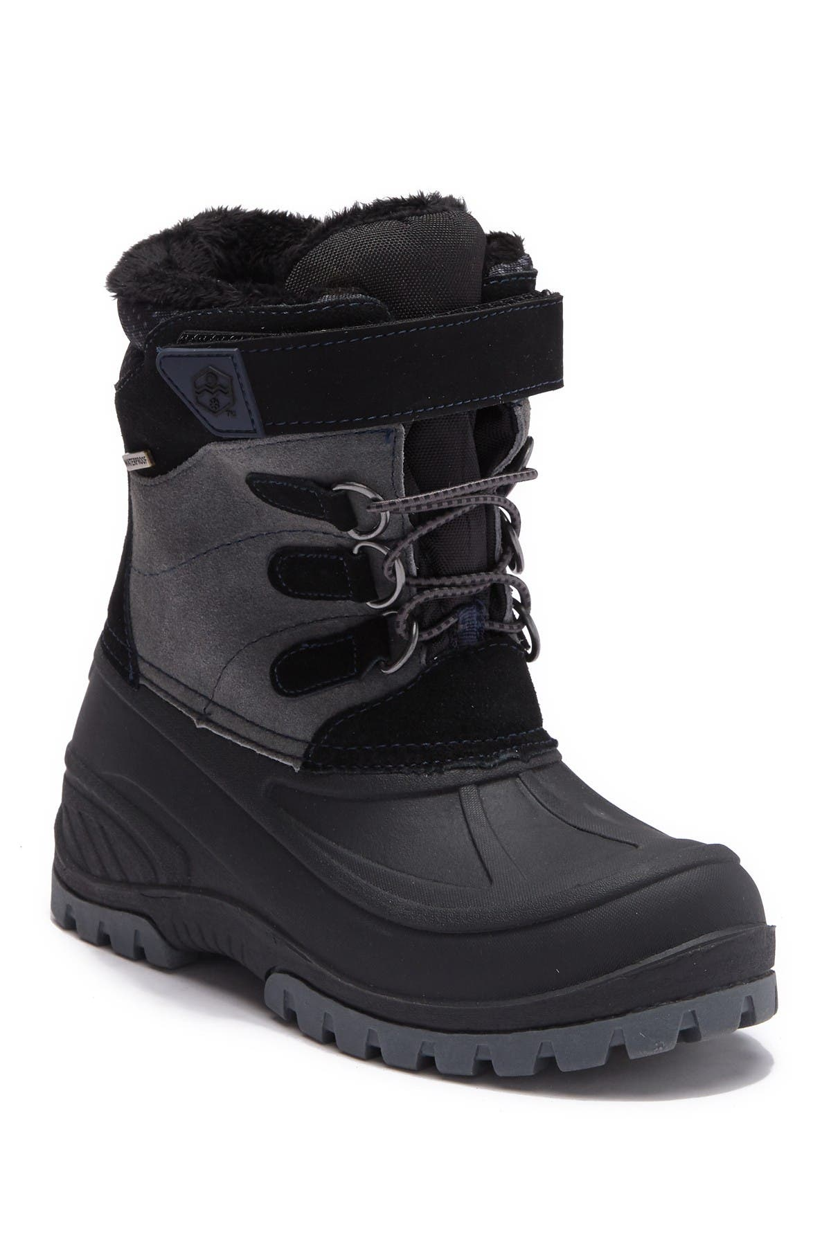 Image of Khombu Snowtracker Faux Fur Lined Waterproof Boot