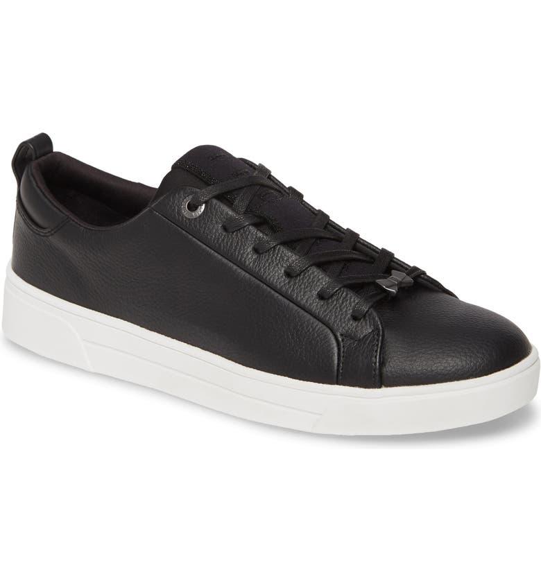 TED BAKER LONDON Tedah Low Top Sneaker, Main, color, BLACK