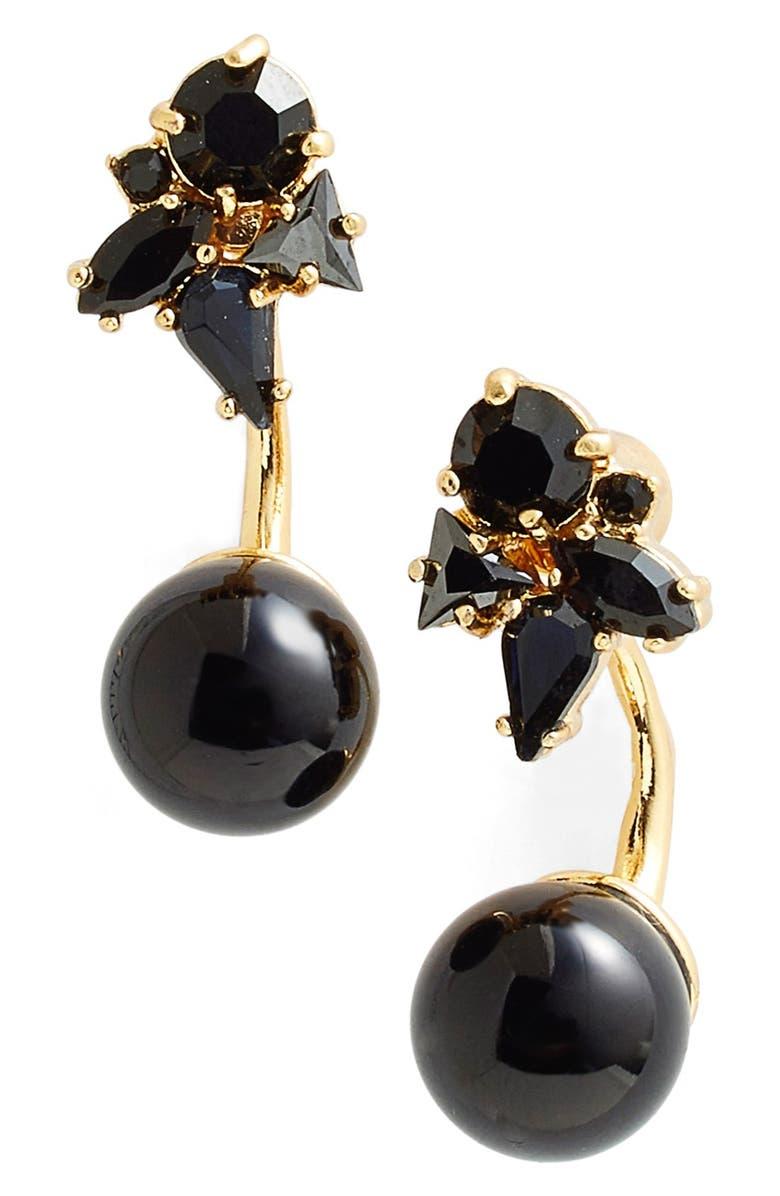 KATE SPADE NEW YORK katespade new york 'dainty sparklers' drop back earrings, Main, color, 001