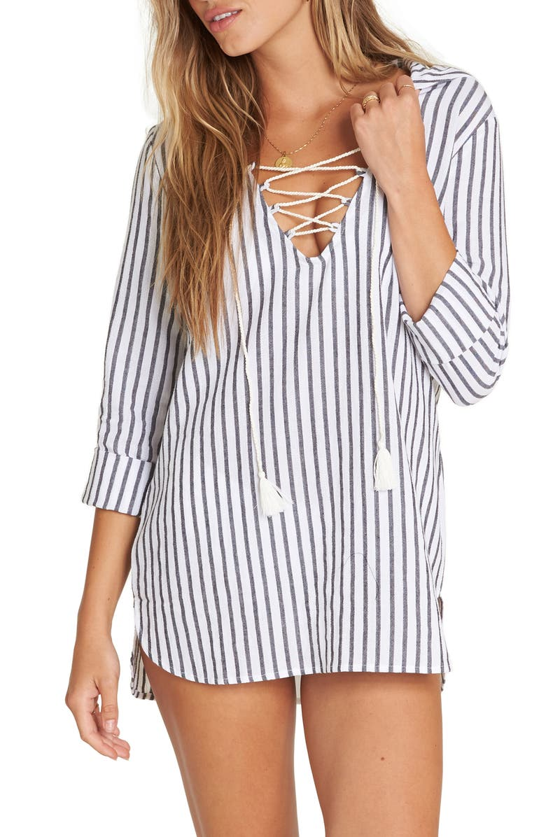 same-side-hooded-cover-up-tunic by billabong