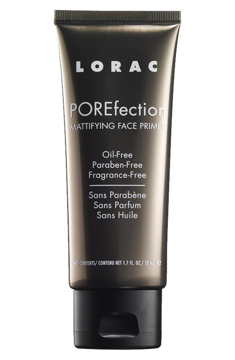 LORAC 'POREfection<sup>®</sup>' Mattifying Face Primer, Main, color, 000