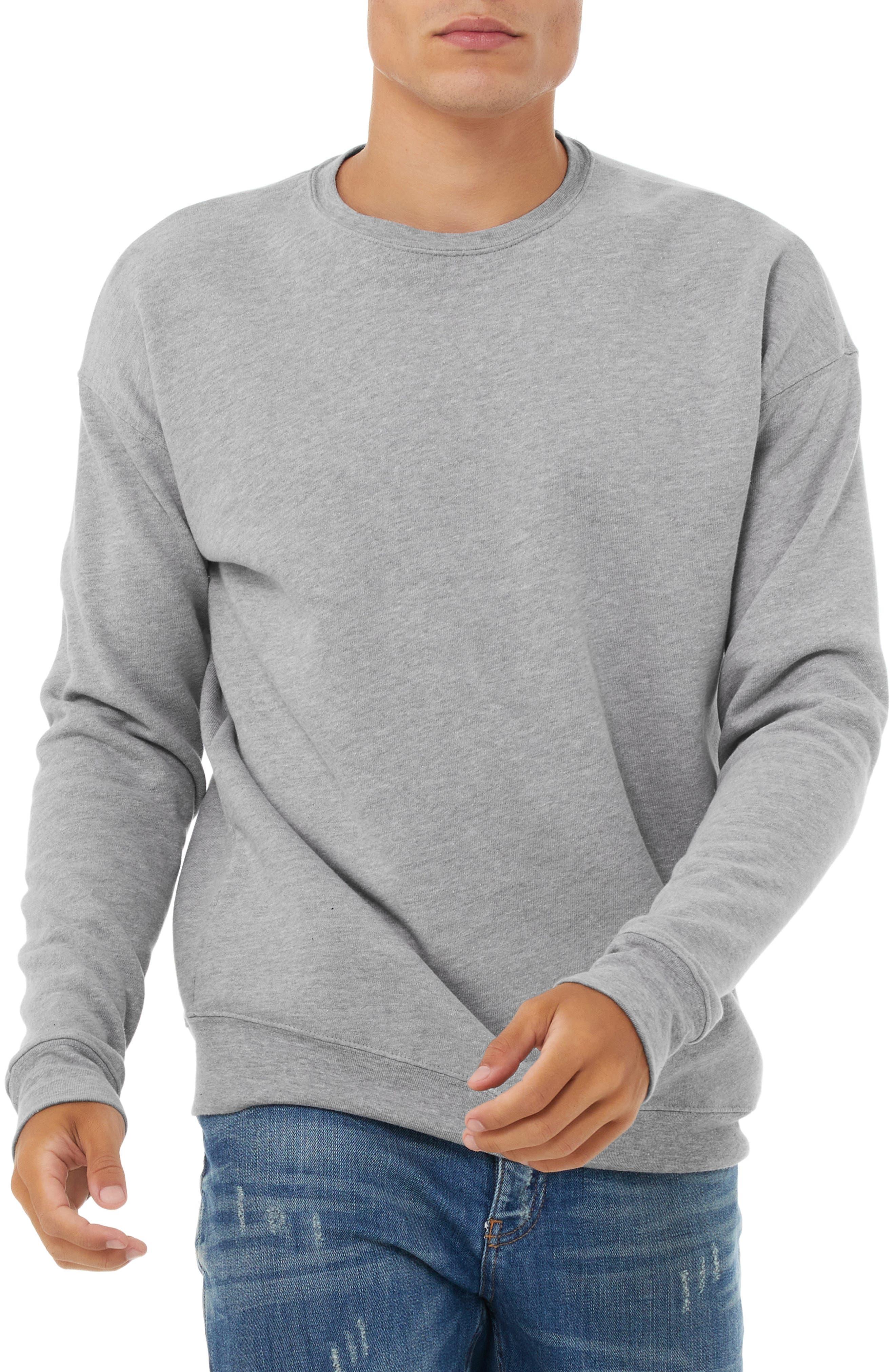 Men's Bella+Canvas Crew Sweatshirt