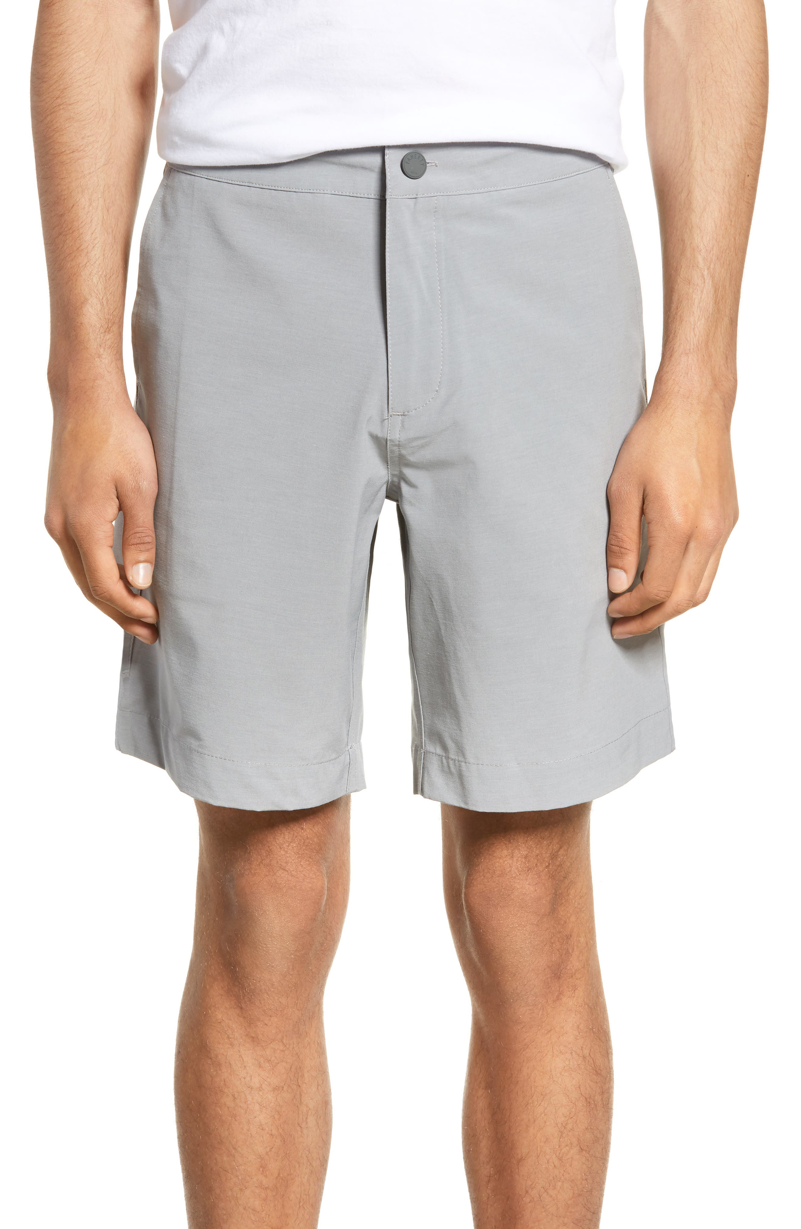 Faherty All Day Flat Front Shorts, None