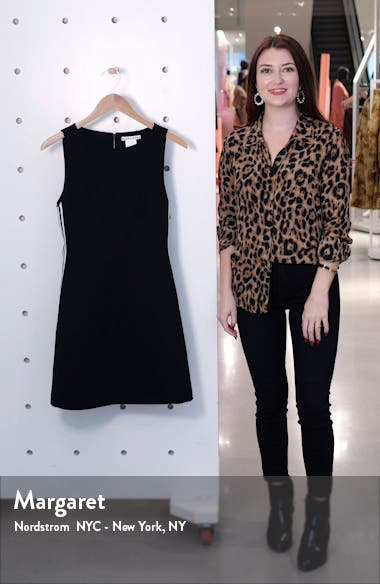 Lindsey Structured Fit & Flare Dress, sales video thumbnail