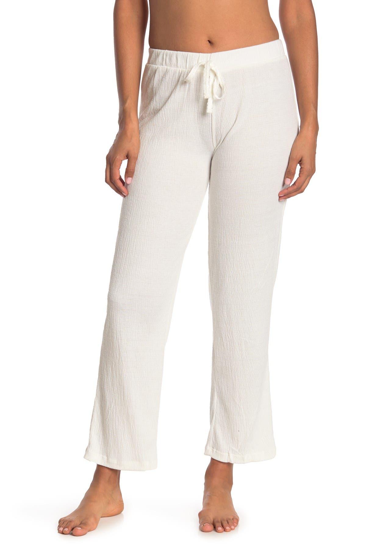 Image of Kathy Ireland Knit Gauze Pants