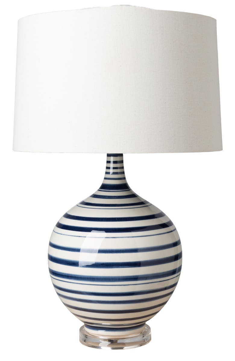 SURYA HOME Tideline Table Lamp, Main, color, WHITE