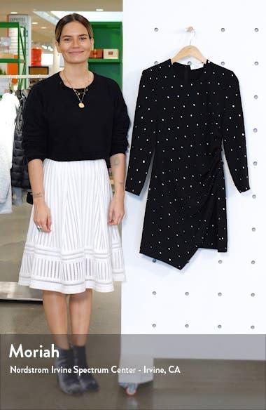 Lana Crystal Long Sleeve Cocktail Dress, sales video thumbnail