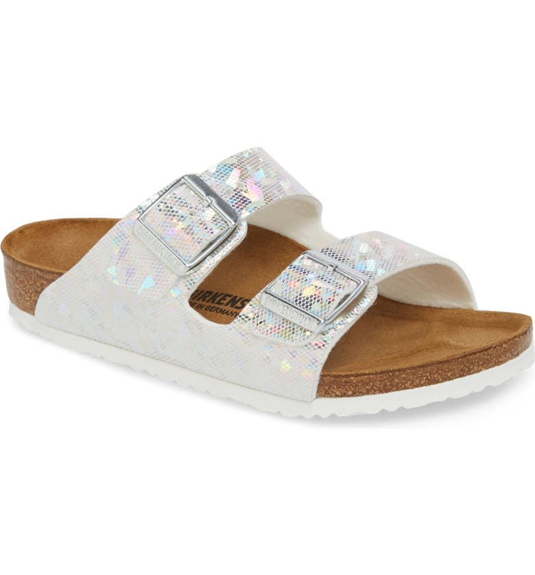 BIRKENSTOCK Arizona Hologram Slide Sandal, Main, color, 045