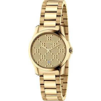 Gucci G-Timeless Bracelet Watch, 27Mm