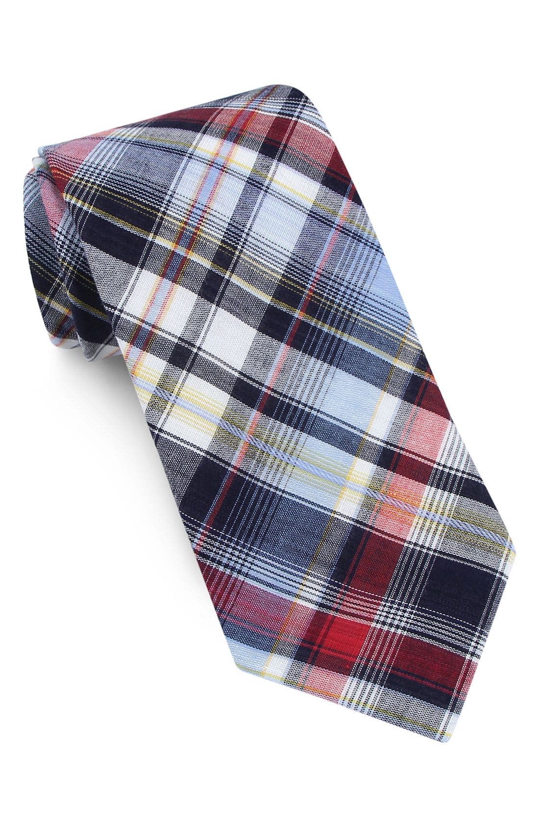 ,                             Woven Cotton Tie,                             Main thumbnail 3, color,                             600