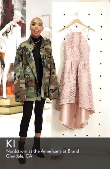 Lace Dip High/Low Dress, sales video thumbnail