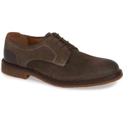 Johnston & Murphy Copeland Plain Toe Derby, Grey
