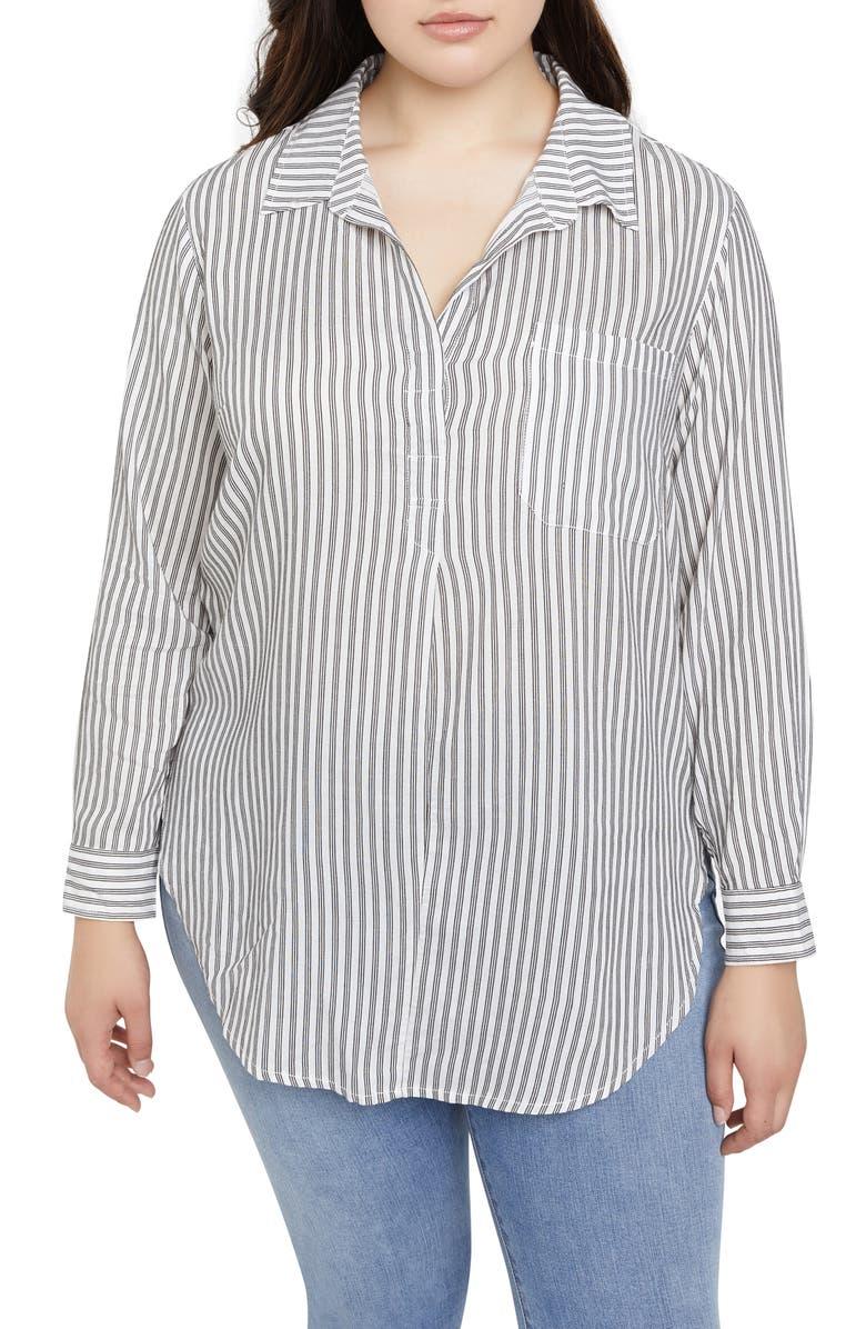 SANCTUARY Miles Tunic Shirt, Main, color, 001