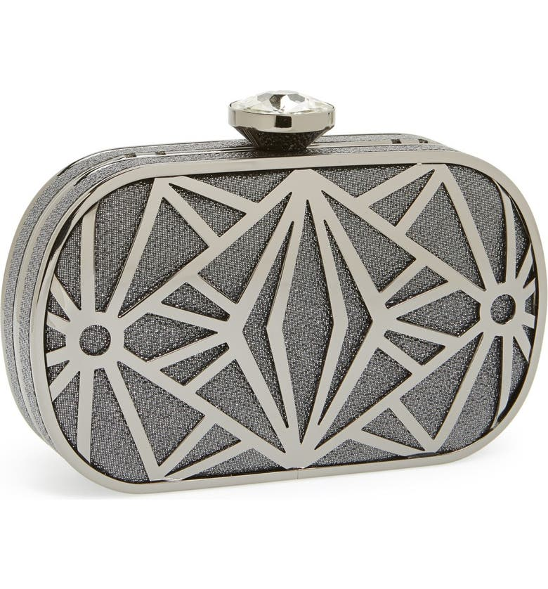 ZZDNU NATASHA COUTURE Natasha Couture 'Deco' Minaudiere, Main, color, 020