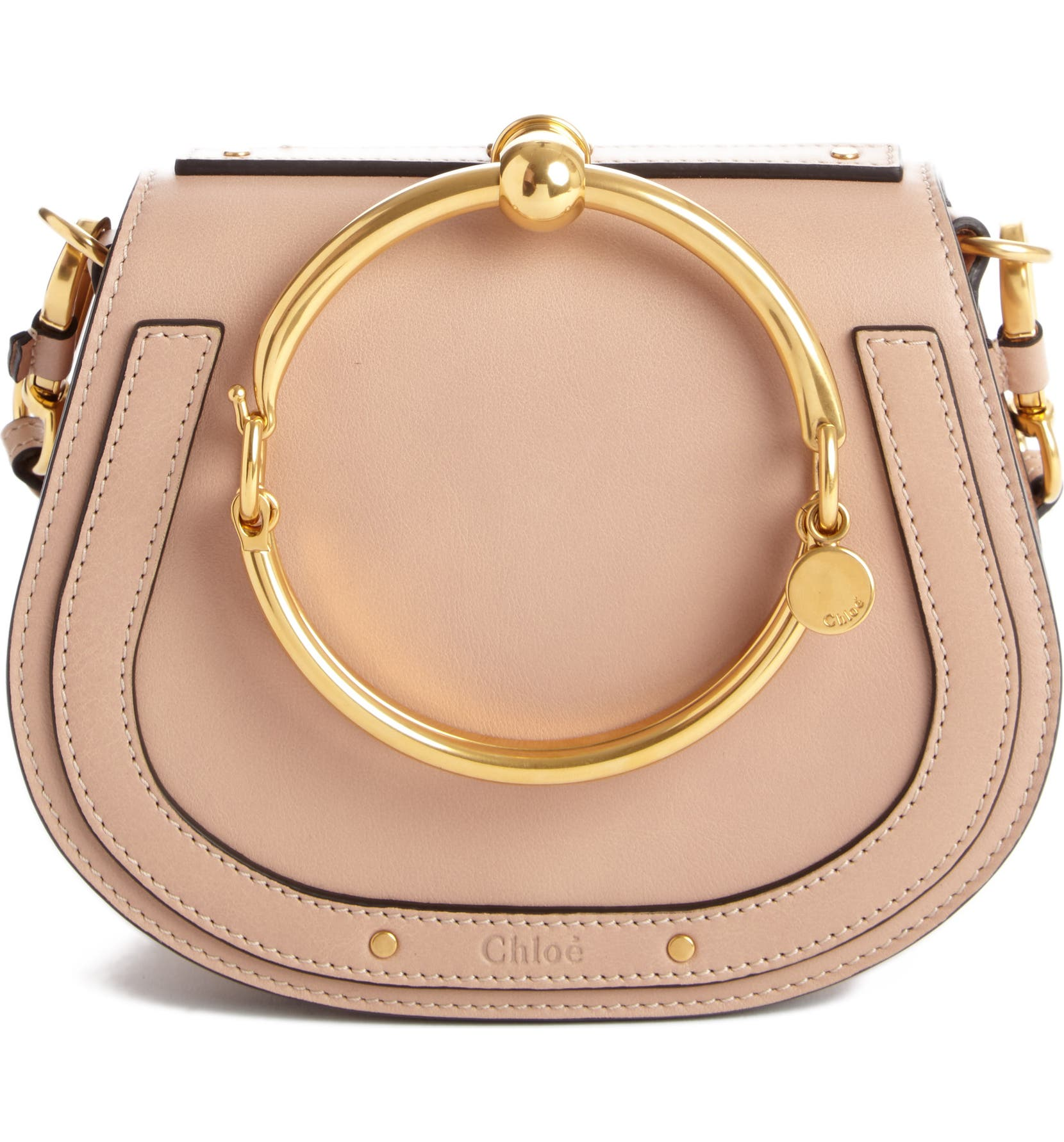 a3fd690d60 Small Nile Bracelet Leather Crossbody Bag