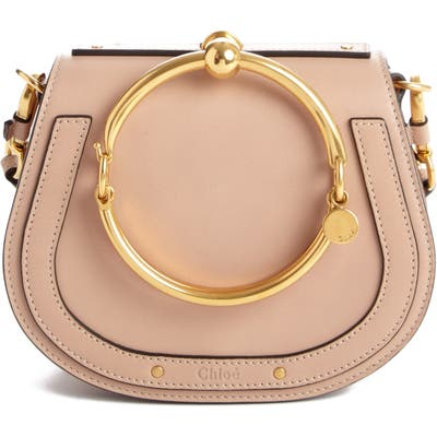 Chloe Small Nile Bracelet Leather Crossbody Bag -