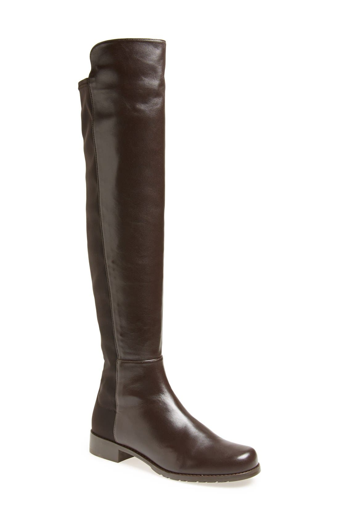 ,                             5050 Over the Knee Leather Boot,                             Main thumbnail 29, color,                             202