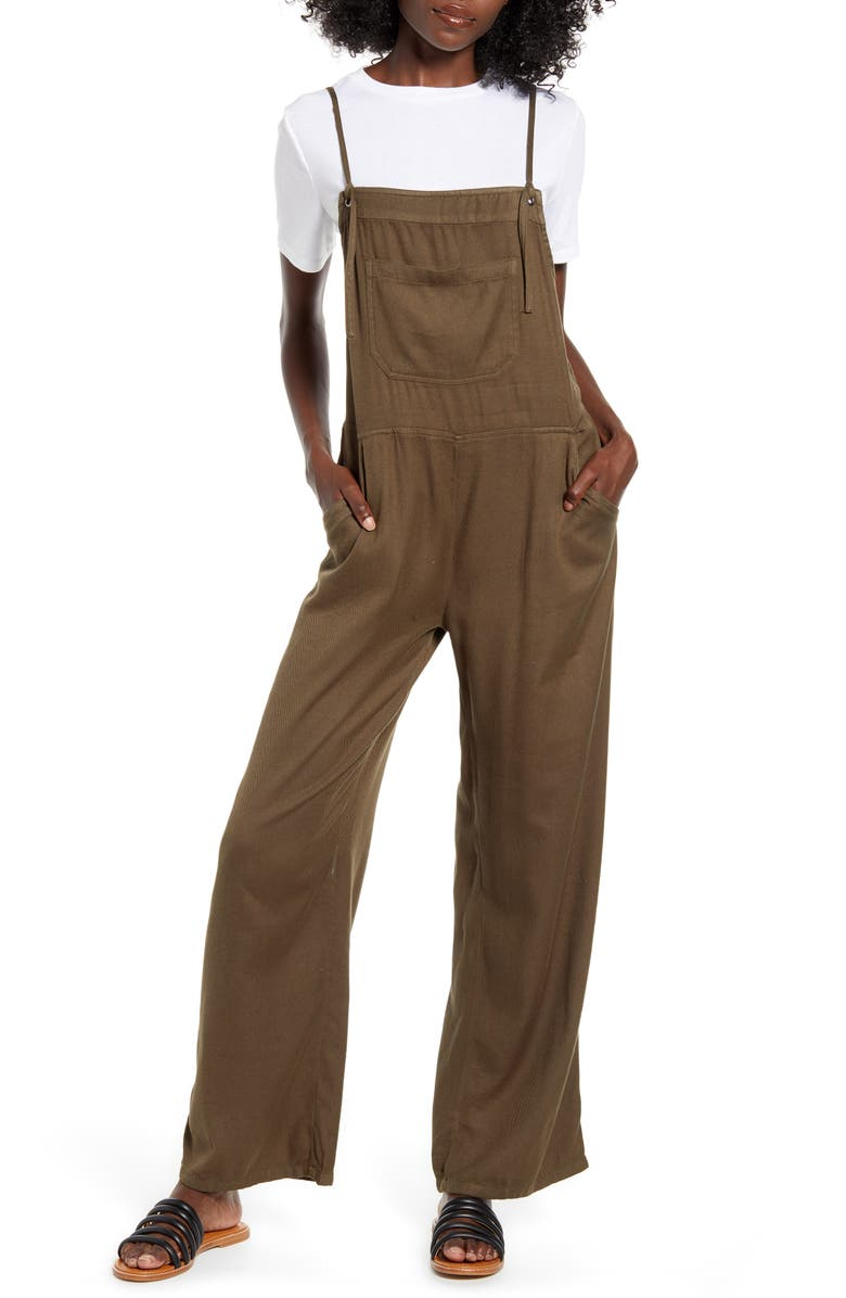 BILLABONG Wild Lengths Wide Leg Jumpsuit, Main, color, 300