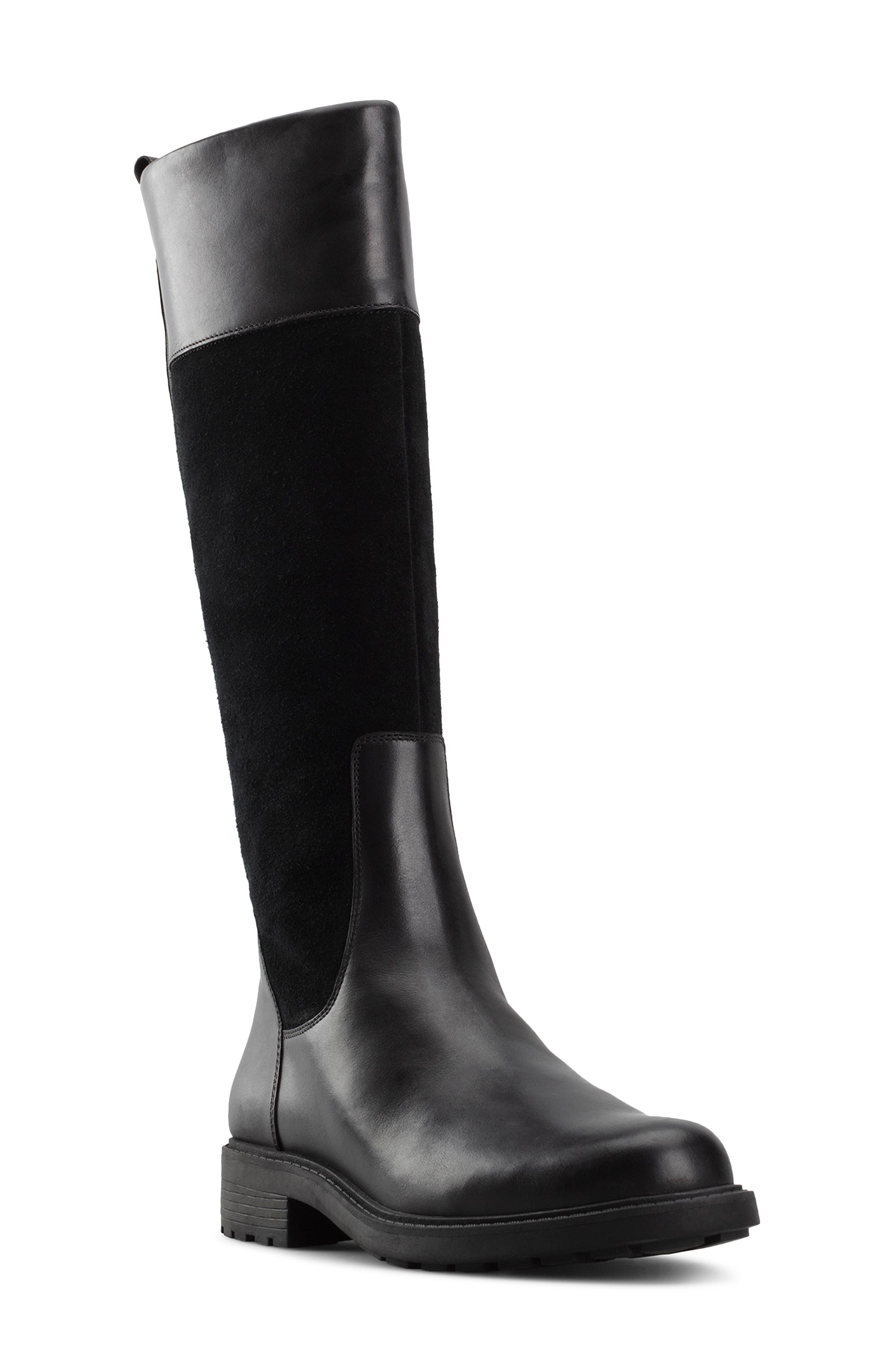 Women's Clarks Orinoco 2 Waterproof Riding Boot