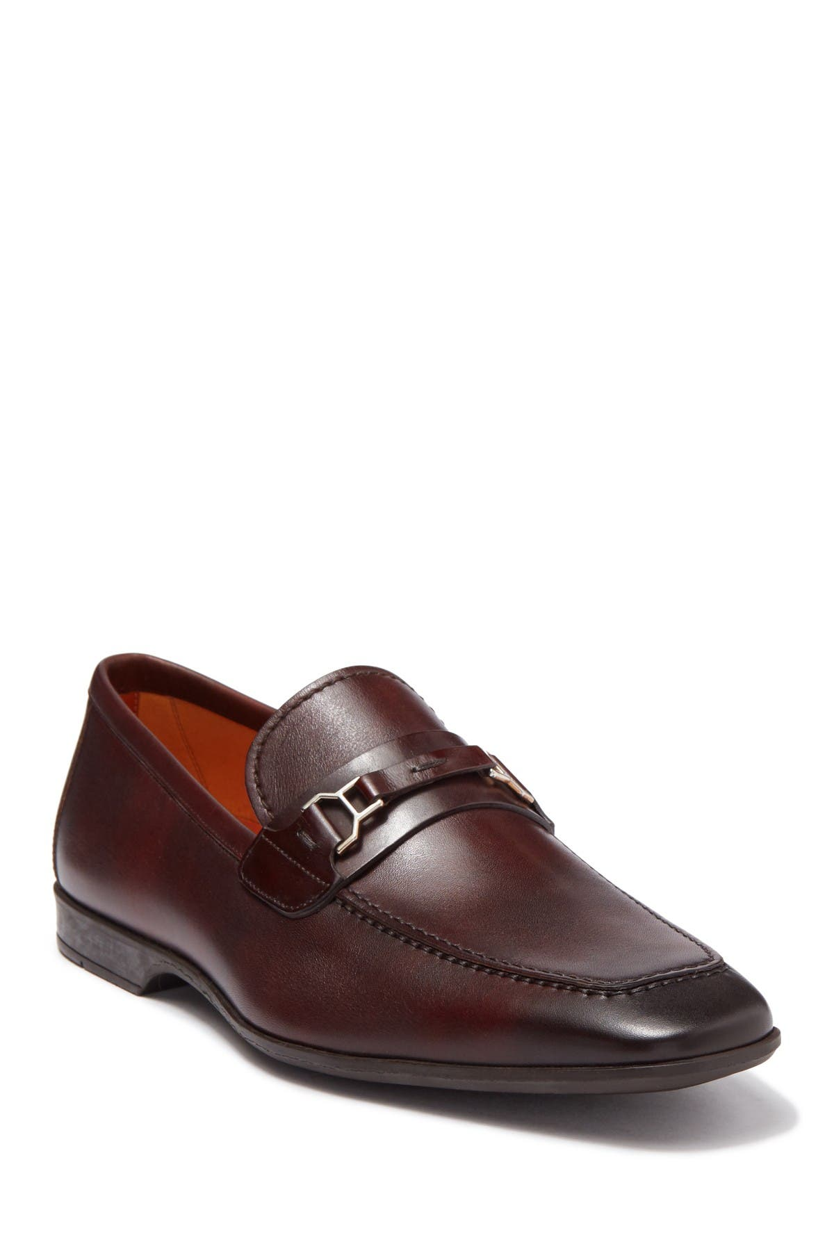 Image of Magnanni Chaplin Leather Bit Loafer