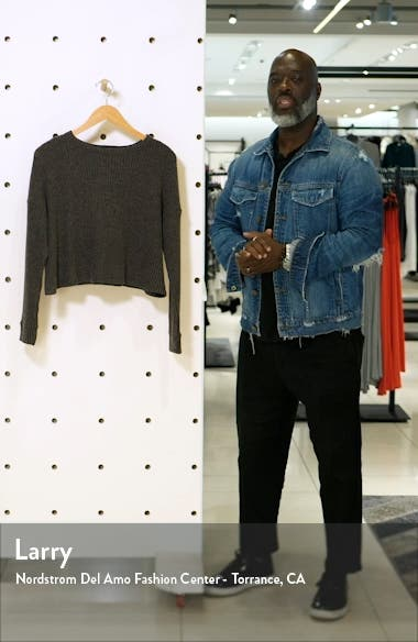 Brushed Up Crop Pullover, sales video thumbnail
