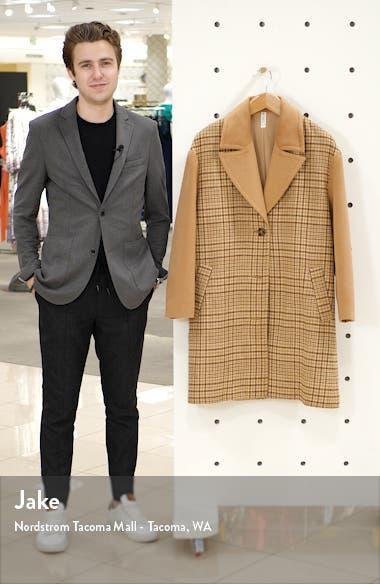 Plaid Longline Coat, sales video thumbnail