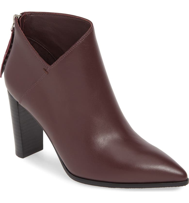 PAIGE Kenna Bootie, Main, color, BURGUNDY
