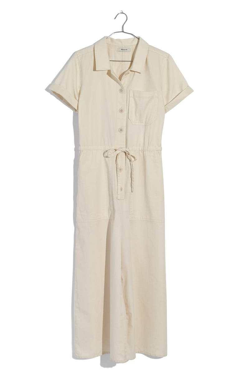 MADEWELL Wide Leg Utility Jumpsuit, Main, color, 102