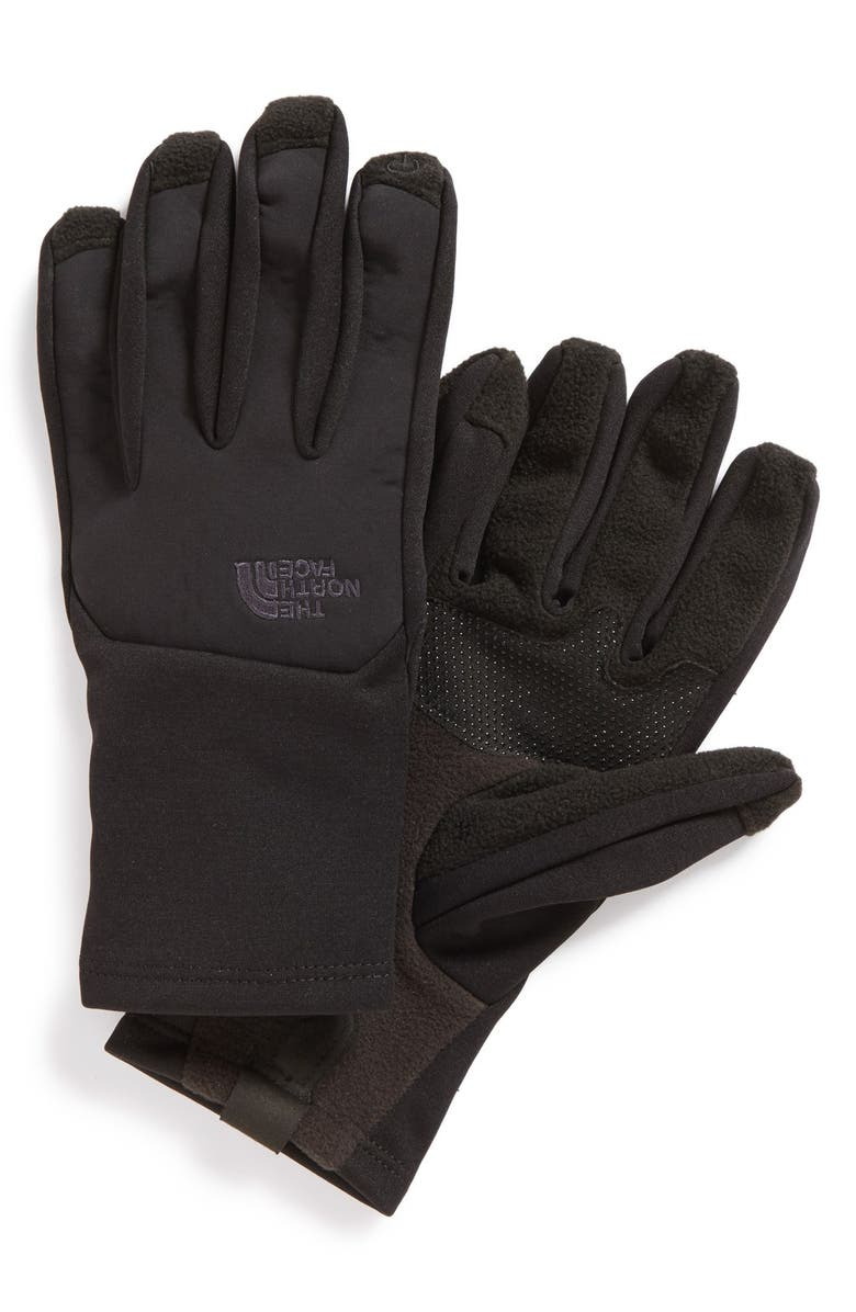 THE NORTH FACE 'Canyonwall' Etip Gloves, Main, color, 001