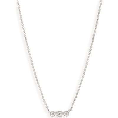 Bony Levy Maya 3-Stone Horizontal Necklace (Nordstrom Exclusive)