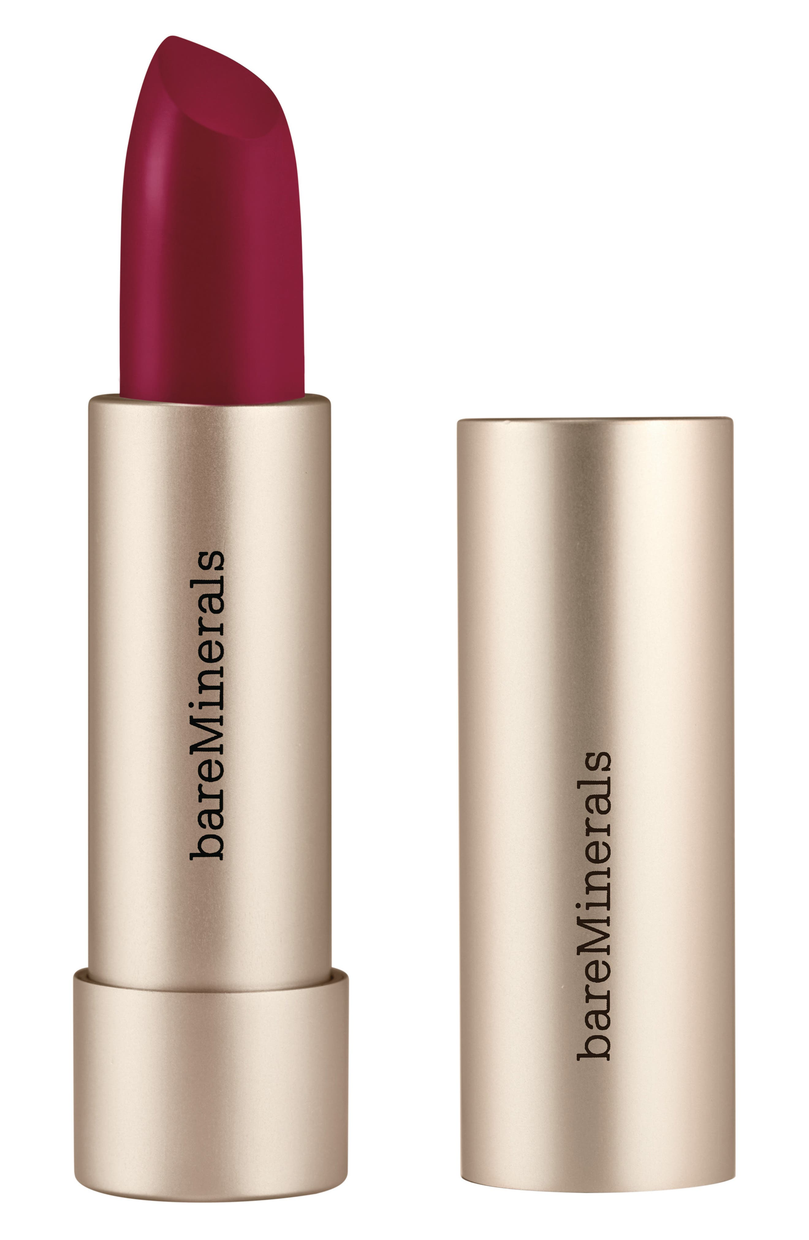 What it is: A mineral-infused vegan lipstick with minimal ingredients that delivers twice the hydration and richer color than regular lipstick. What it does: Made with just 19 vegan ingredients including cold-pressed fruit oil, this lipstick delivers lightweight smoothing hydration and rich color with a single swipe. How to use: Swipe directly onto lips from the bullet. For increased definition and longer wear, pair with a lip liner. Style