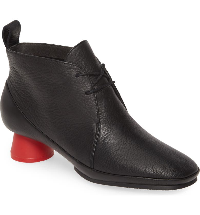 CAMPER Alright Bootie, Main, color, BLACK LEATHER