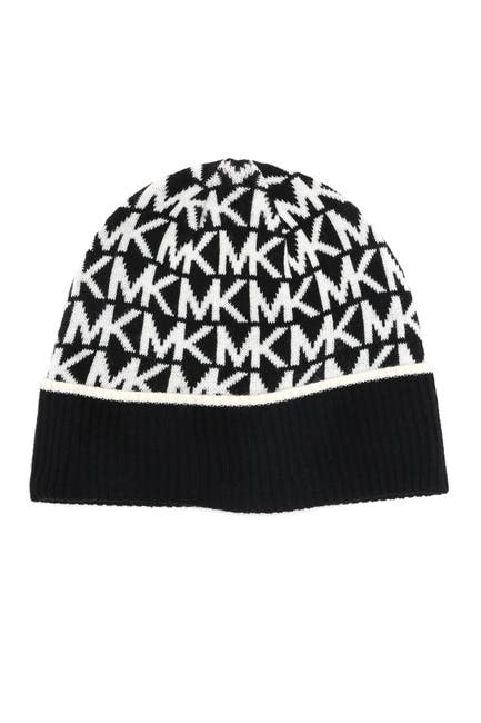 Michael Kors Brand Logo Print Cuff Hat $12.73 (71% off)