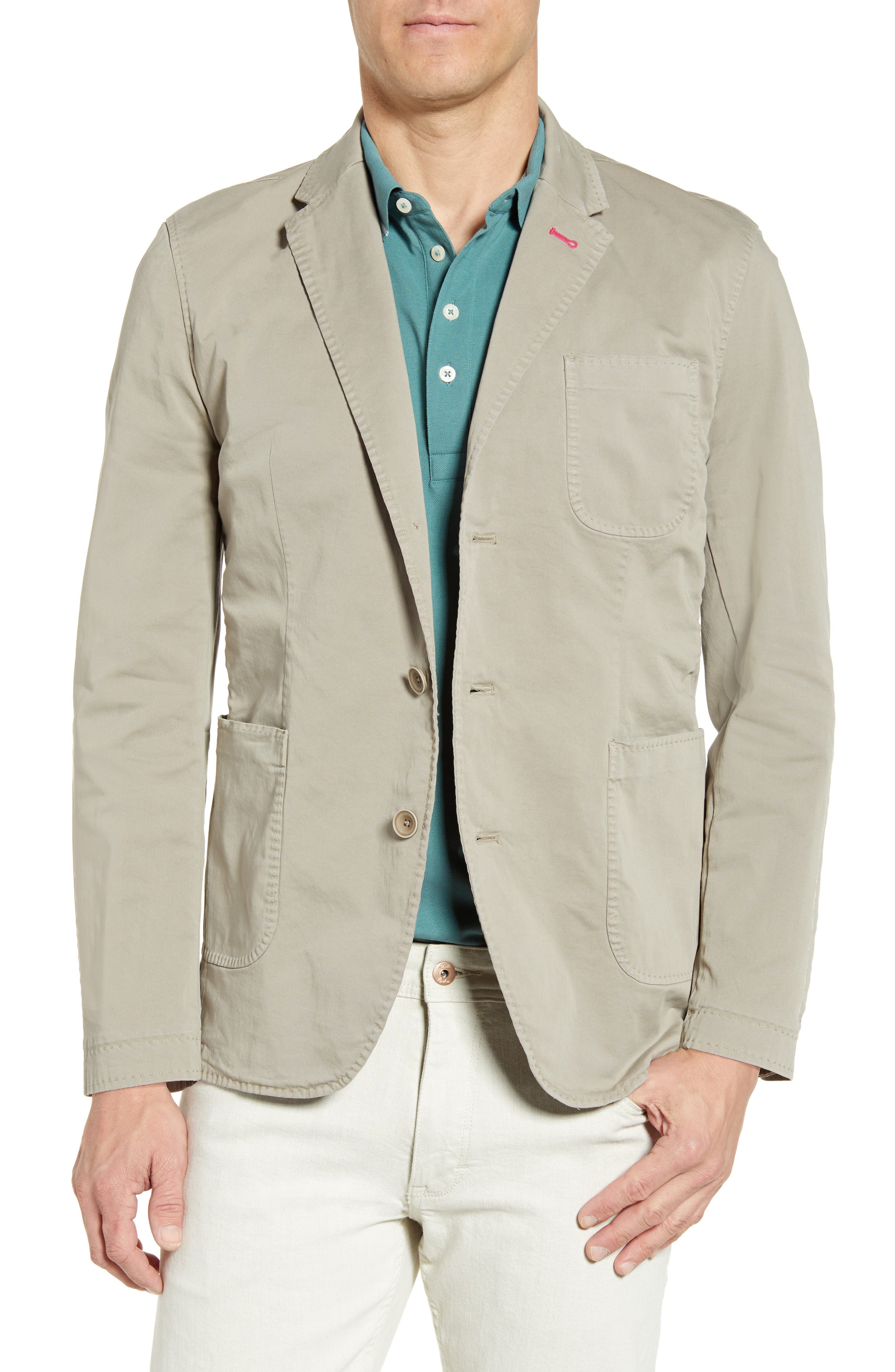 Image of Robert Graham Cape South Three Button Notch Lapel Tailored Fit Sport Coat
