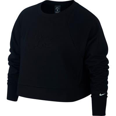 Plus Size Nike Dri-Fit Crop Sweatshirt