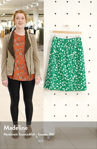 Pull-On A-Line Skirt, sales video thumbnail