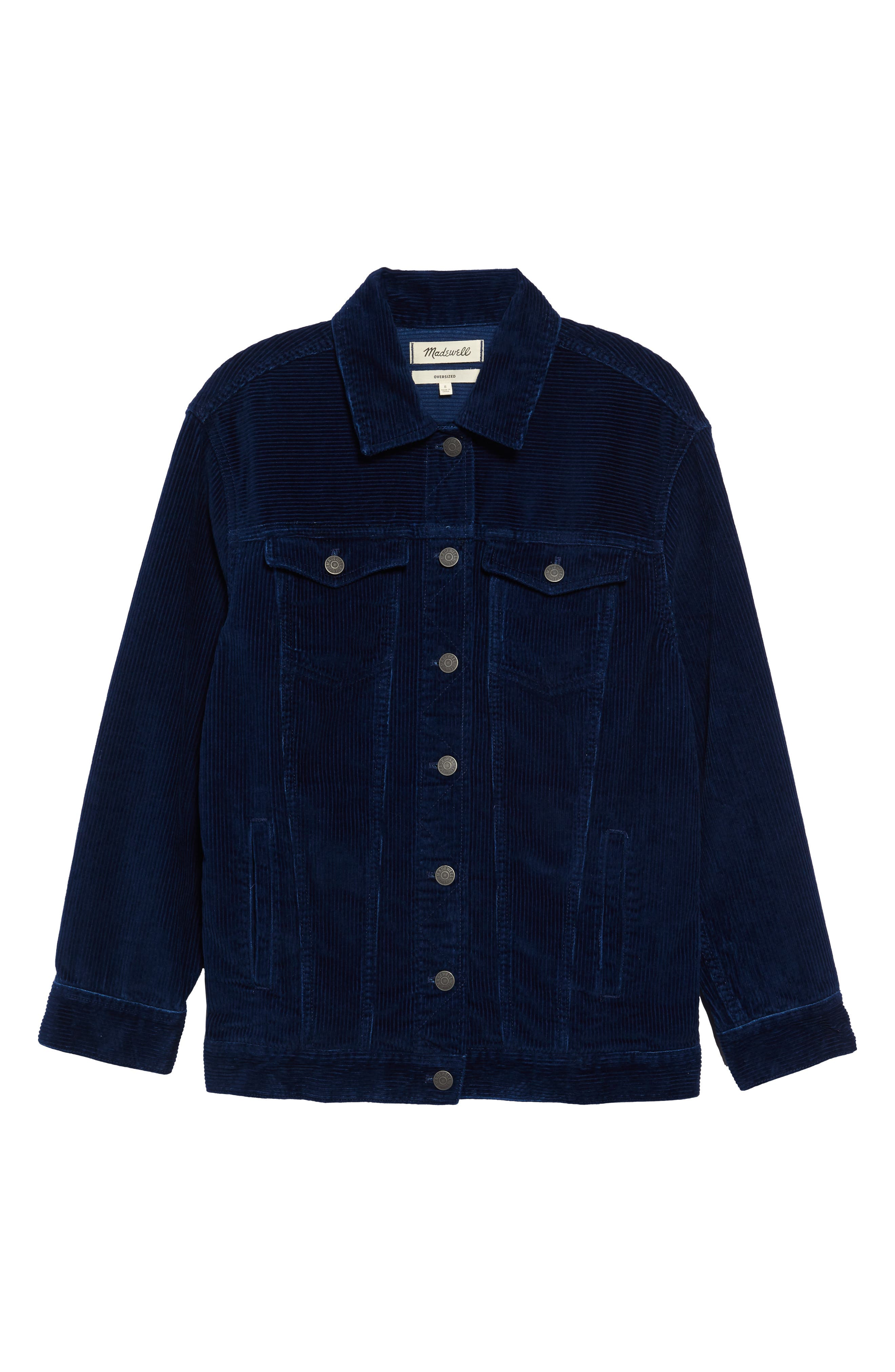 Madewell The Oversize Jean Jacket: Corduroy Edition