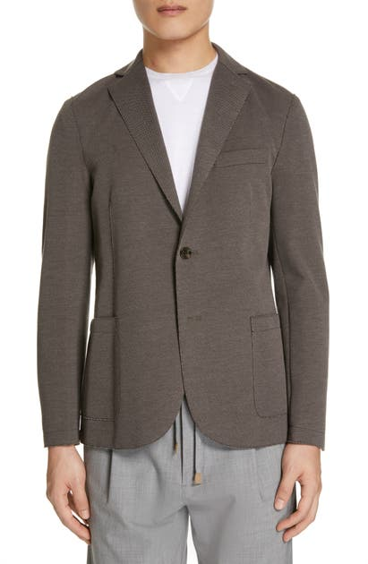 Eleventy Cottons SLIM FIT JERSEY SPORT COAT
