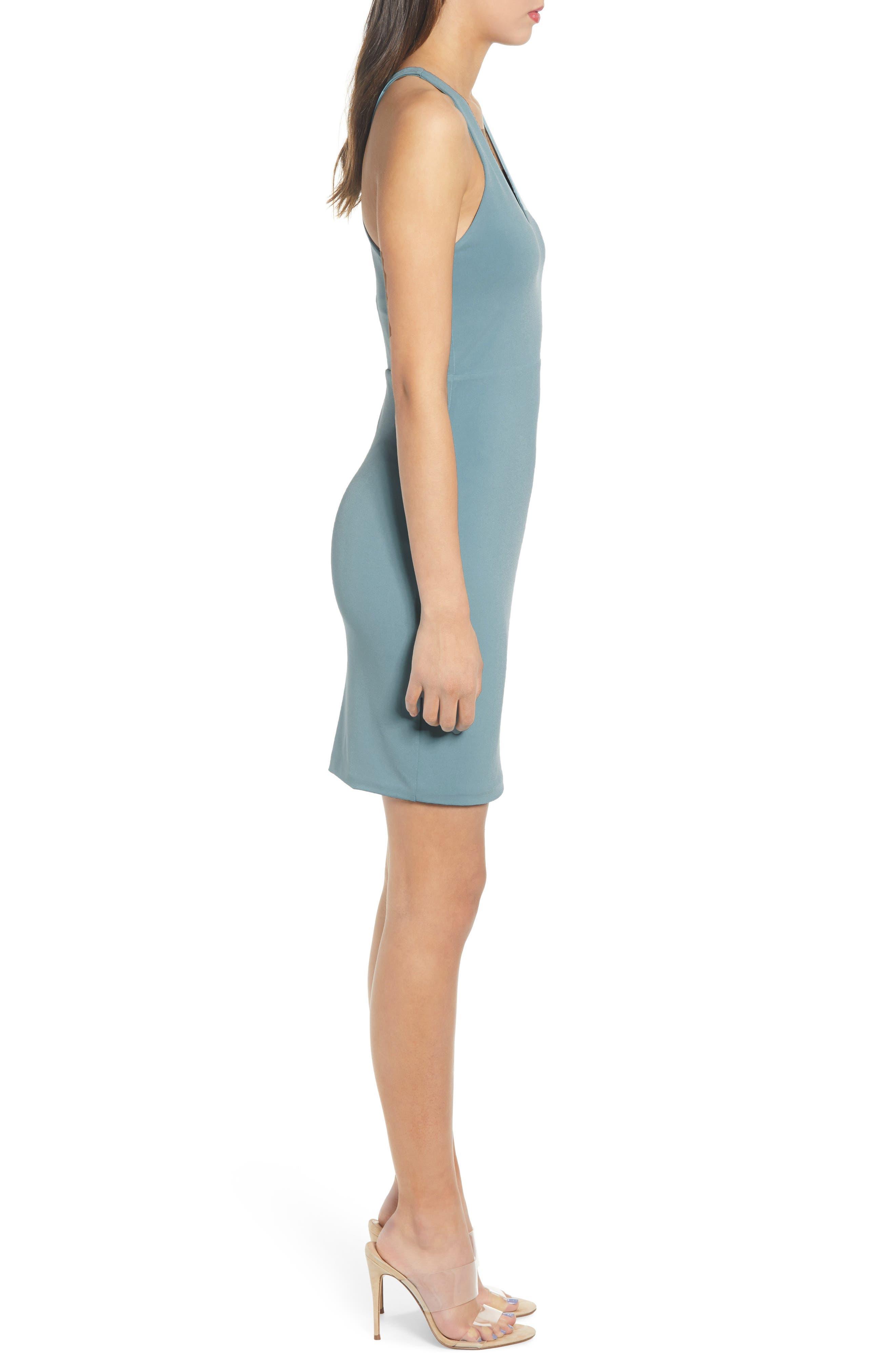 ,                             Racerback Body-Con Dress,                             Alternate thumbnail 34, color,                             450