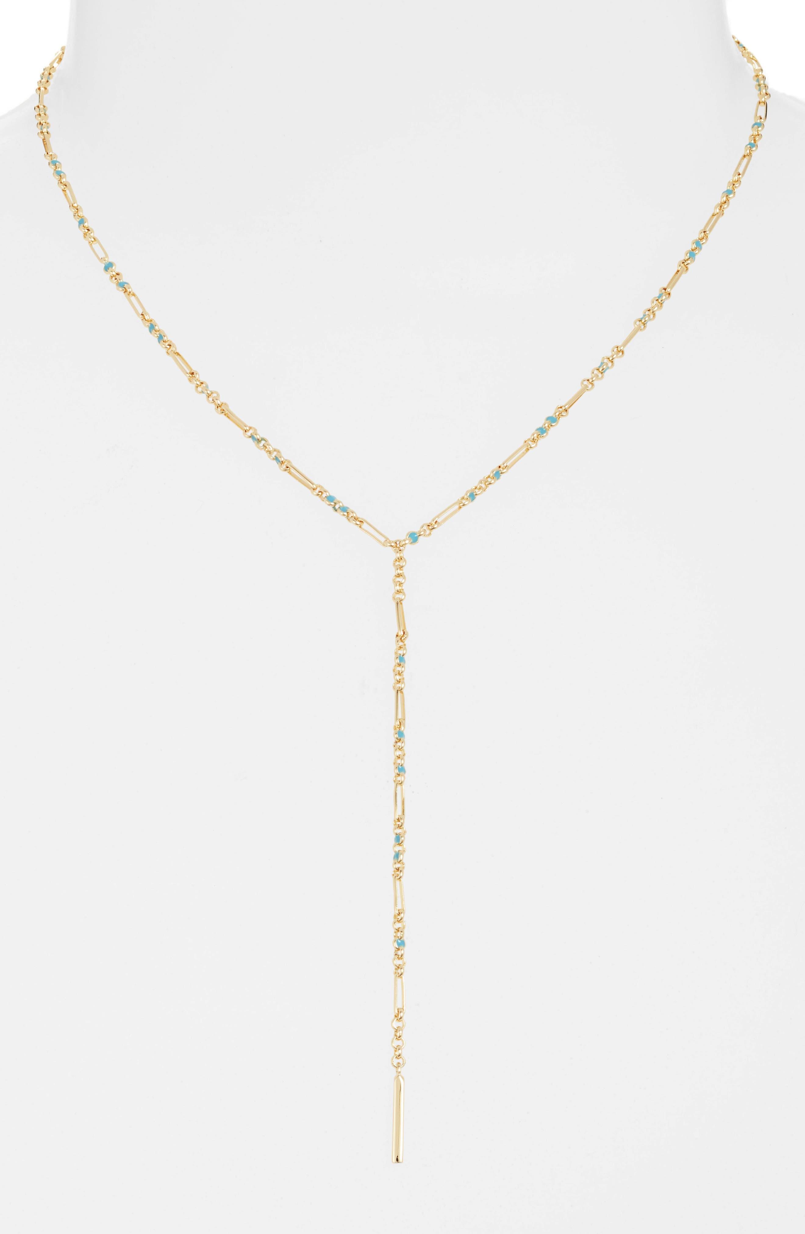 Gorjana Amalfi Y-Necklace