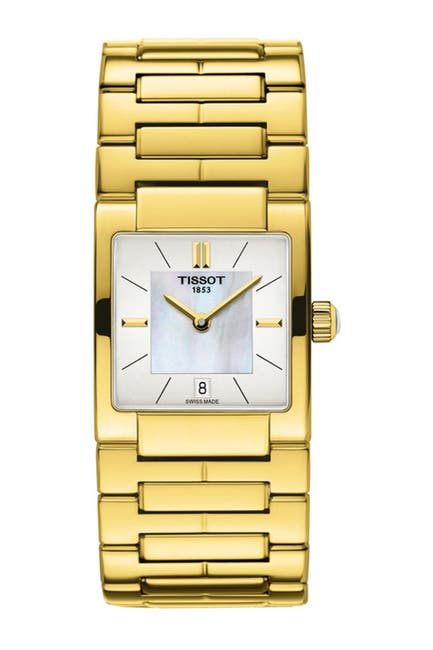 Image of Tissot Women's T-Trend Mother of Pearl Watch, 23mm