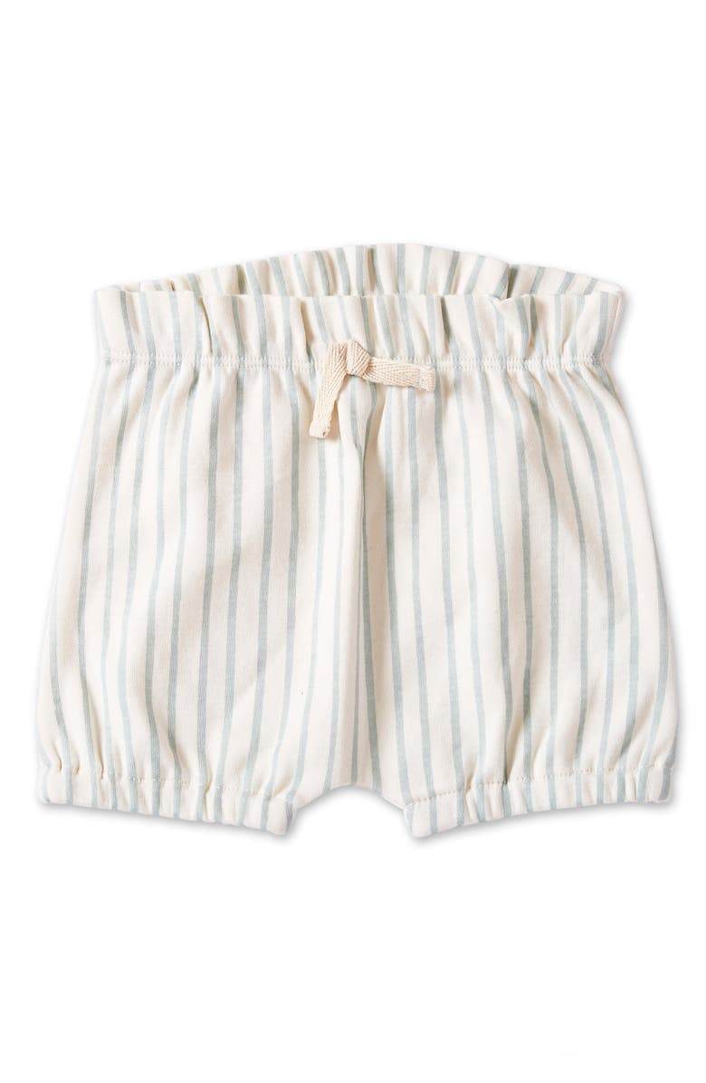 PEHR Stripes Away Bubble Shorts, Main, color, SEA