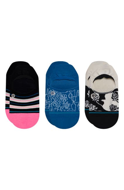 Image of Stance Reign Check No Show Socks - Pack of 3