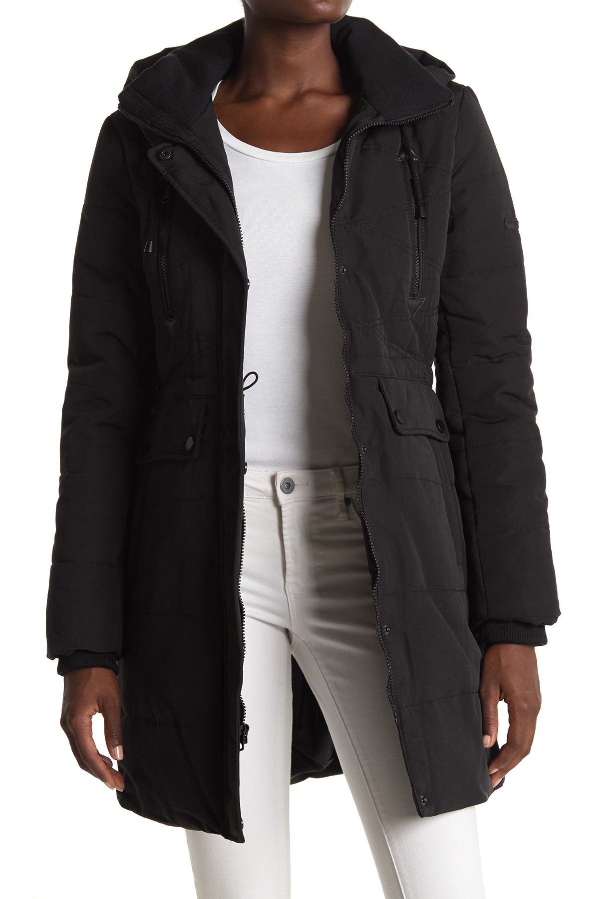 Image of Lucky Brand Missy Faux Fur Hood Parka