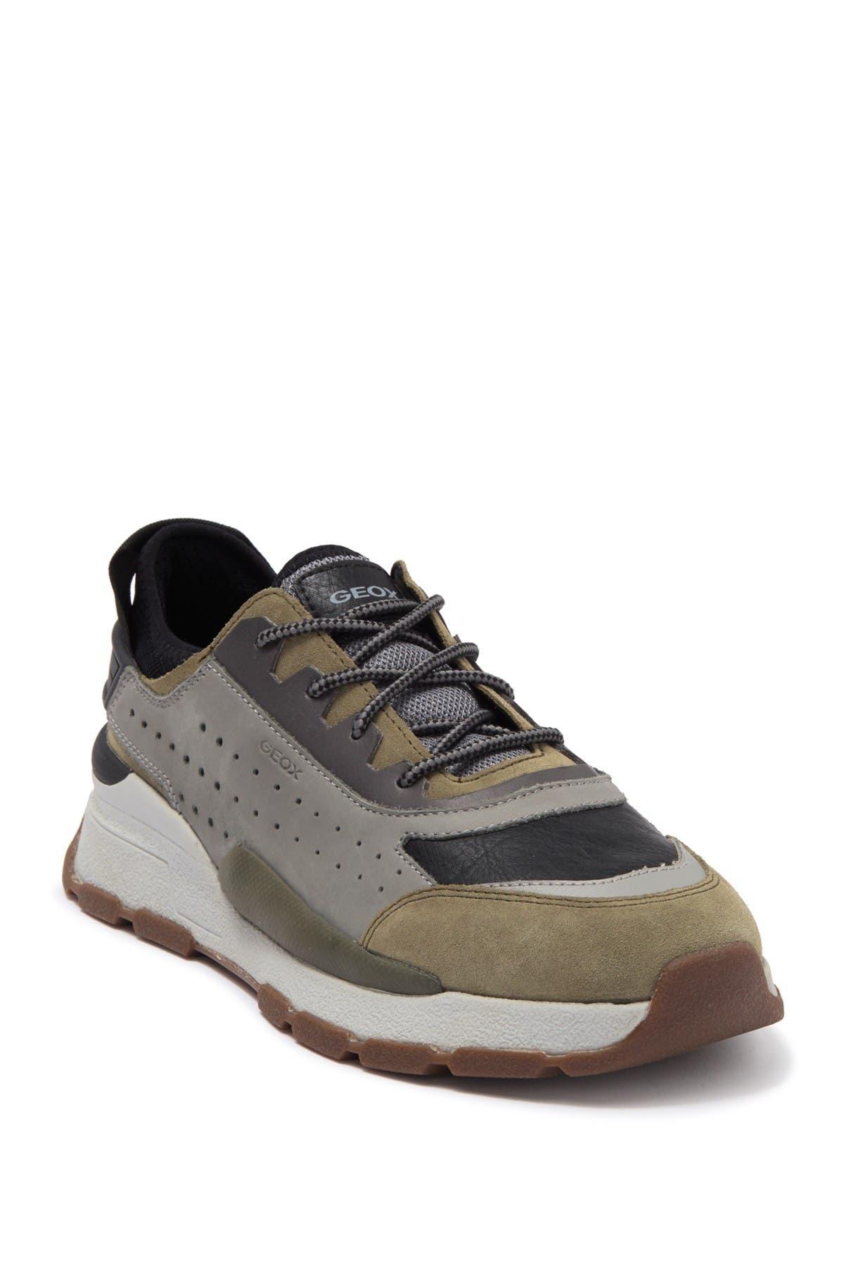Image of GEOX Regale Suede Sneaker