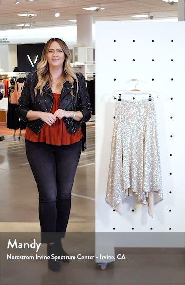 Sequin Handkerchief Skirt, sales video thumbnail